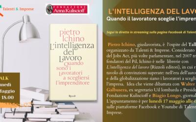Presentazione libro di Pietro Ichino – 17 maggio 2021